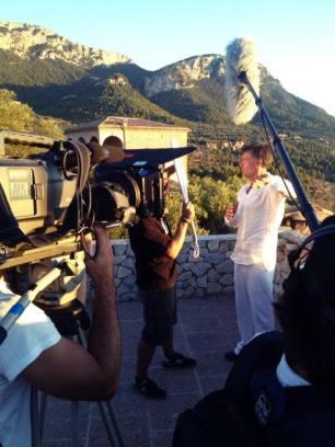 Moments con Francis Lorenzo en Sa Foradada para España a ras de cielo