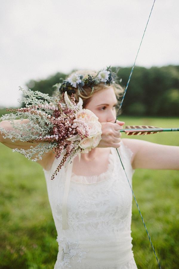 Una boda al estilo Robin Hood