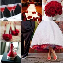 Boda en rojo Moments Bodas y Eventos