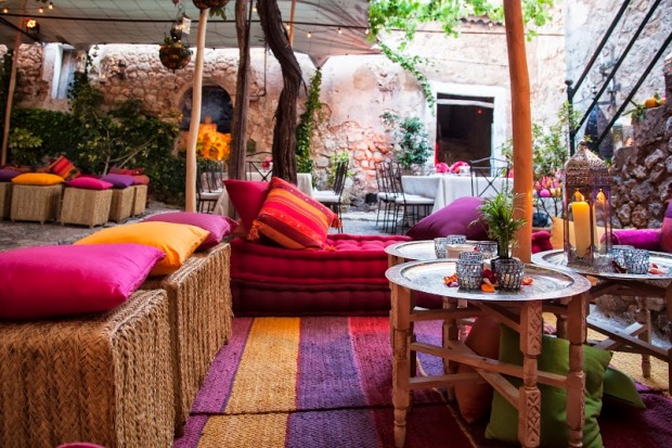 Miss lily zonas chill out en tu boda - Decoracion chill out ...