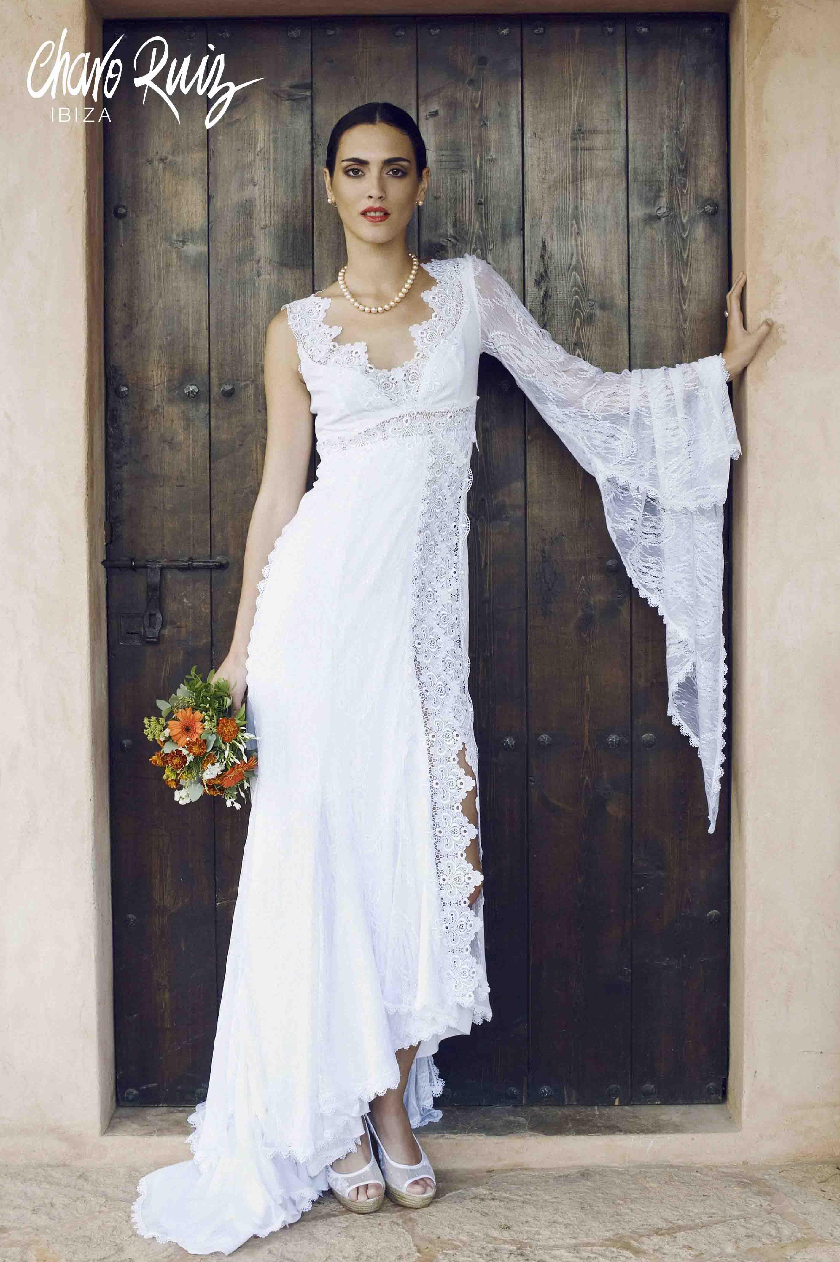 Vestidos de novia ibicencos en mallorca