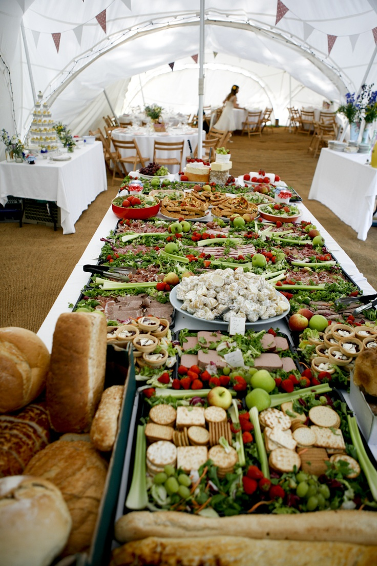 Estilos De Buffet Rstico Chic Para Tu Boda My Wedding