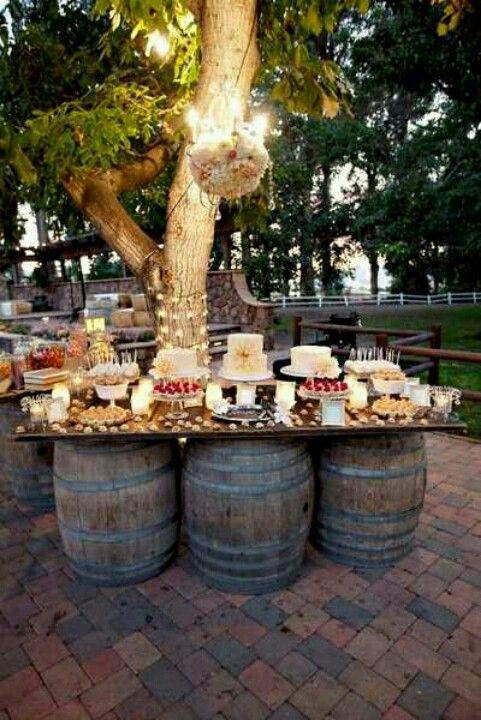 Ideas Para Matrimonio Rustico : Estilos de buffet rústico chic para tu boda u tu de bodas y