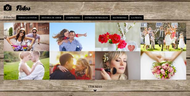 web para boda