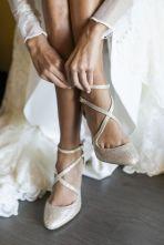 zapato tacon boda novia