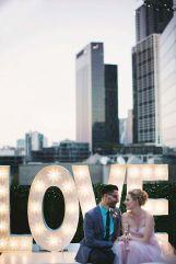 boda urbana atico